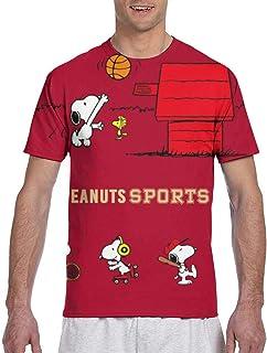 Tシャツ メンズsnoopy スヌーピー.4 男女兼用 3dプリント スタイリッシュな半袖 吸水速乾 夏服 快適 シャツ ゆったり 肌着 下着 人気 柔らかい インナーシャツ 日常用 プレゼント