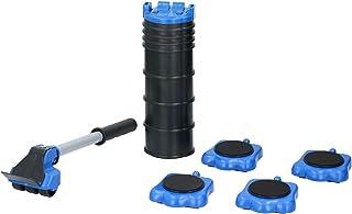 KINZO Möbel-Gleitroller 4 Rollen, 8 Höhenregler, Stabile Transporthilfe zum sicheren..