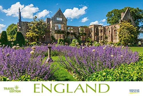 England 212719 2019: Großer Foto-Wandkalender mit Bildern aus Britannien. Travel Edition mit Jahres-Wandplaner. PhotoArt Panorama Querformat: 58x39 cm.