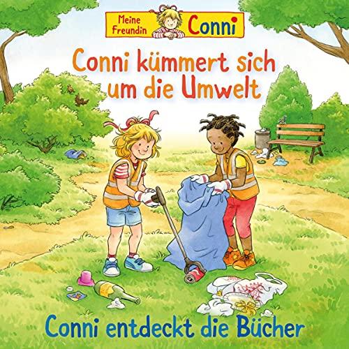 Conni kümmert sich um die Umwelt / Conni entdeckt die Bücher cover art