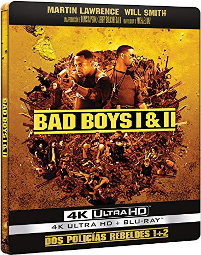 Pack: Dos Policías Rebeldes 1 + Dos Policías Rebeldes 2 - Edición Limitada Metal (4K UHD + BD) [Blu-ray]