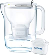 BRITA Style XL Water Filter, Compatible with BRITA MAXTRA+ Cartridges, Water Filter That Helps with The Reduction of Limes...