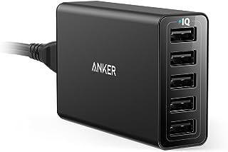 Anker PowerPort 5 (40W 5ポート USB急速充電器) 【PSE認証済 / PowerIQ搭載】iPhone、iPad、Android各種対応(ブラック)