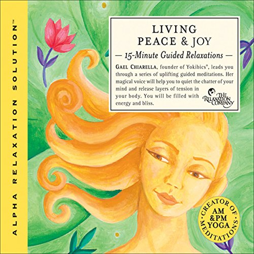 Living Peace & Joy audiobook cover art