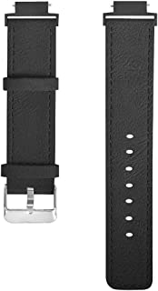Cocity Replacement Accessories for Huami Amazfit Verge Lite Watch Bands, 20mm Classic Leather Quick Release Watch Bands Wr...