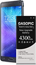 Galaxy Note 4 Battery 4300mAh Li-Polymer Replacement Battery for Note 4 N910, N910U 4G..