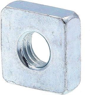 1-8 Square Nuts Grade 2 Steel Quantity: 25 Zinc Plated