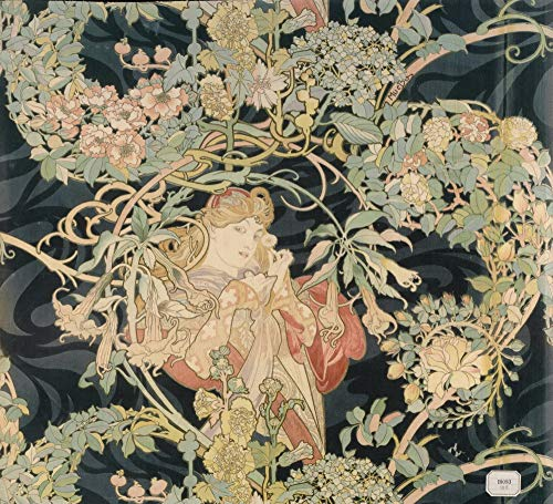 Berkin Arts Alphonse Mucha Giclee Kunstdruckpapier Kunstdruck Kunstwerke Gemälde Reproduktion Poster Drucken(Frau mit der Margerite)