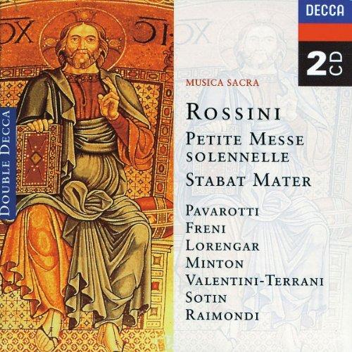 Rossini: Petite Messe solennelle / Stabat Mater by Mirella Freni, Lucia Valentini-Terrani, Luciano Pavarotti, Ruggero Raimondi, Pil (1997) Audio CD