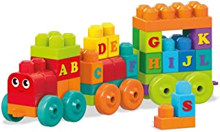 Mega Bloks DXH35 ABC Learning Train Building Set