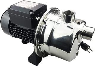 BACOENG 4Bar 900GPH Stainless Steel Jet Pump for Garden Lawn Irrigation - Industrial Grade Motor Inside (30% More Powerful Than Civil Grade)