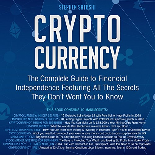 Cryptocurrency cover art