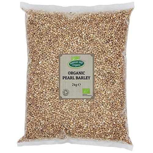 Organic Pearl Barley 2kg by Hatton Hill Organic - Free UK Deliv