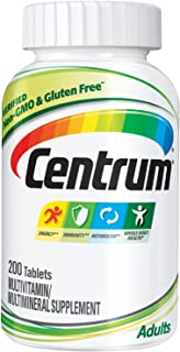 Centrum Adult Multivitamin/Multimineral Supplement with Antioxidants, Zinc and B Vitamins - 200...