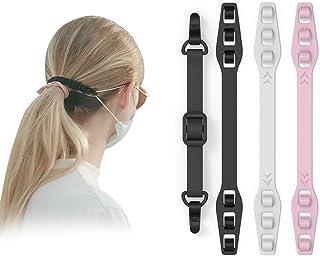 HX AURIZE Mask Extender Strap Adjustable Comfort Ear Hook 4 Pcs