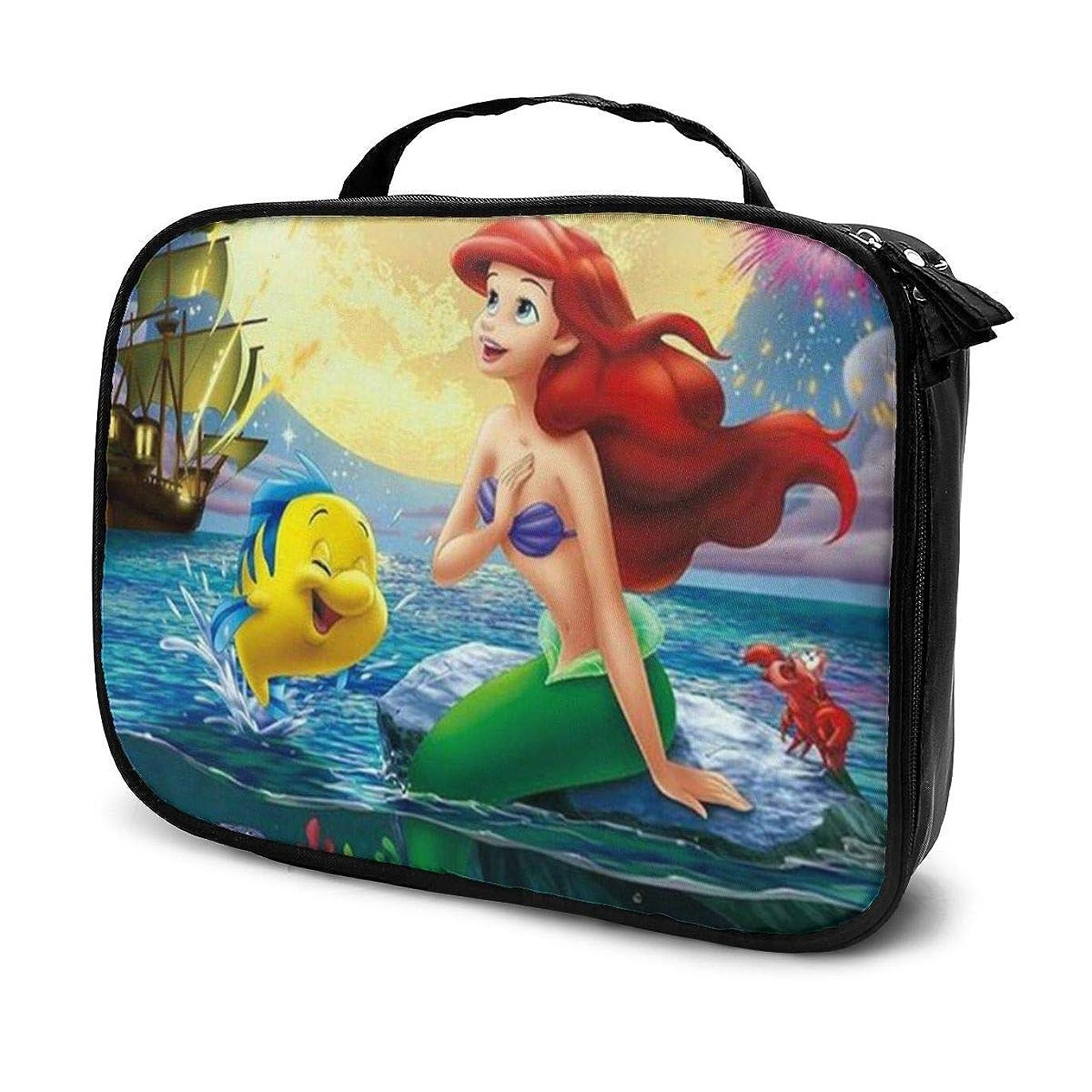 サーキュレーション贅沢代数Daitu美人魚姫 化粧品袋の女性旅行バッグ収納大容量防水アクセサリー旅行
