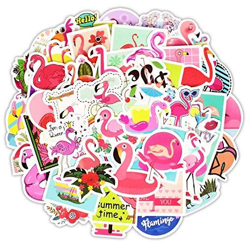 greestick Aufkleber Flamingo Stickerbomb 50 Stück Sticker