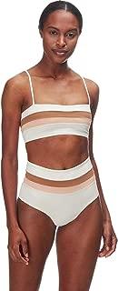 LSpace Women's Reversible Rebel Stripe Bikini Top