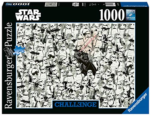 Ravensburger Puzzle 14989 - Star Wars - 1000 Teile Puzzle für Erwachsene und Kinder ab 14 Jahren, Puzzle-Motiv von Darth Vader und seinen Klonkriegern
