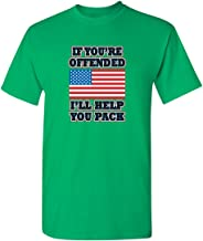 Feelin Good Tees If You're Offended Flag Political Patriotic America T-Shirt