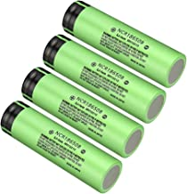 Best panasonic ncr 3400mah 18650 battery Reviews