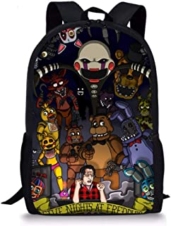 Cool Teddy Bear's Five Nights at Freddy's Bunny Bear Student Backpack Children's School Bag Customized Backpack for School...