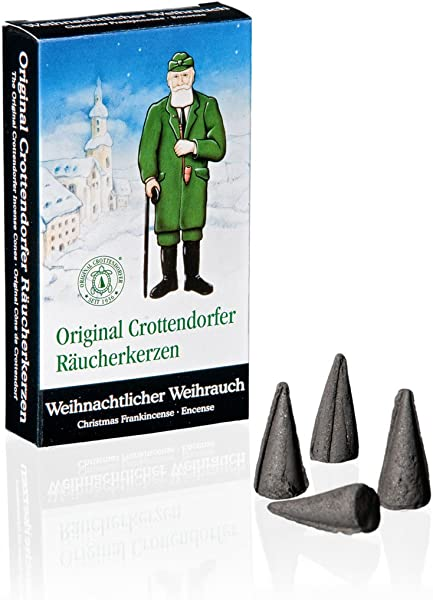 Crottendorfer Frankincense Scented Incense Cones Pack Of 24 Made In Germany