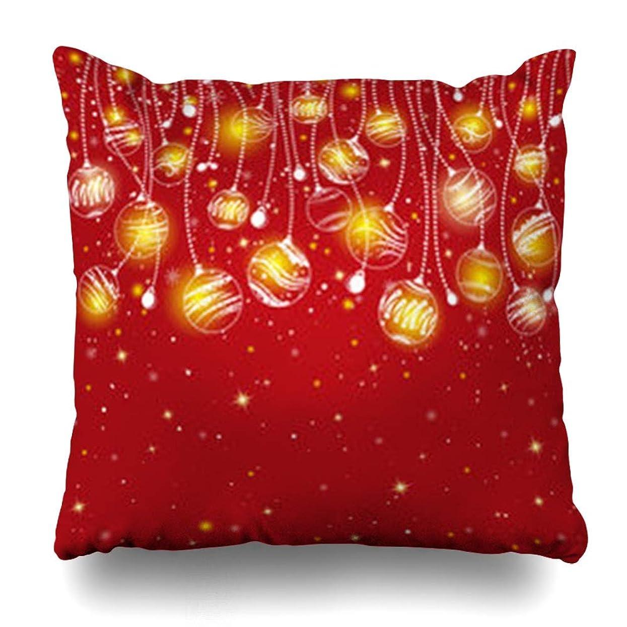 ハングセッション分散スロー枕カバー冬クリスマスネイチャーツリーホリデークリスマスモミ白Snowflakedesign定型化ホームデコレーションクッションケースSquare18 * 18インチ装飾ソファ枕カバー