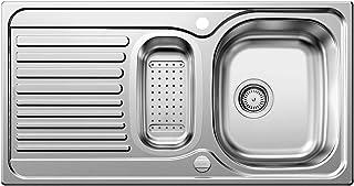 BLANCO Toga 6 S Basic, Küchenspüle, Edelstahl Naturfinish, 1 Stück, 512639