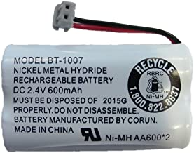 New! Genuine Uniden BBTY0651101 BT-1007 NiMH 600mAh DC 2.4V Rechargeable Cordless Telephone Battery