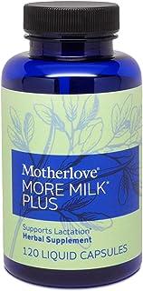 Motherlove, More Milk Plus, 120 Liquid Capsules
