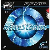 Donic Bluestorm Z2 - Gomma da ping pong, 1,9 mm, colore: Nero