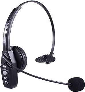 Arama JBT800 Trucker Bluetooth Headset V5.0, Noise Canceling Wireless Headset for Truck Driver, Call Center, Office, Gamers
