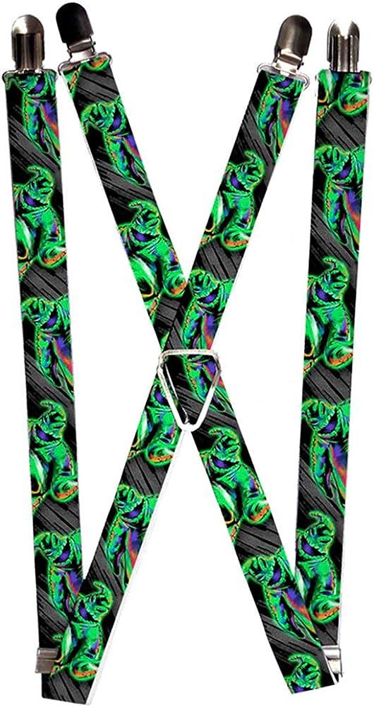 Buckle-Down Suspenders-Nightmare Before Christmas Oogie Boogie Pose El