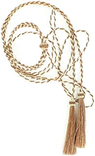 M & F Western Men's and White Horsehair Stampede String