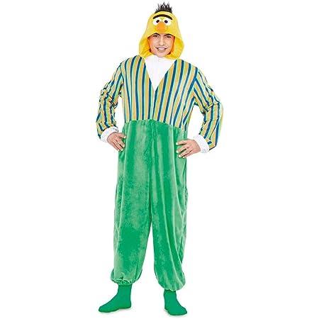 Barrio Sésamo Disfraz Pijama de Blas para Adultos : Amazon.es ...