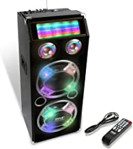 Wireless Active PA Speaker System – 1000W Portable High Powered Bluetooth..