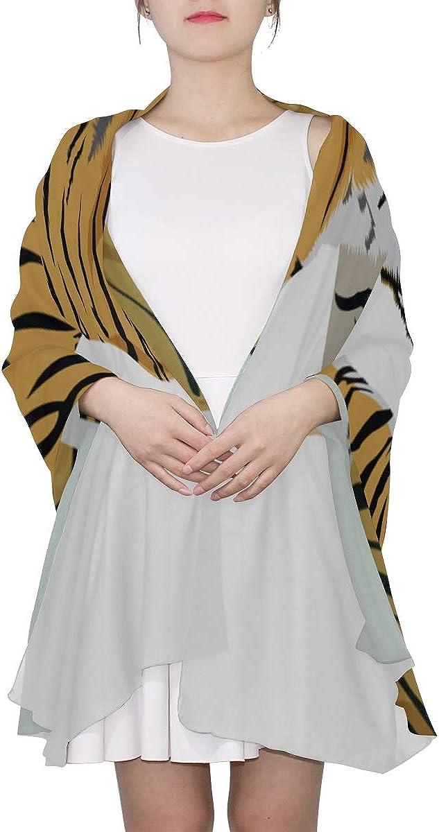 Multi Scarf Women King Animal Graphic Tiger Animal Shawls And Wraps Scarf Belts For Women Lightweight Print Scarves Fashion Scarfs Women Mens Scarfs Fashion Thin