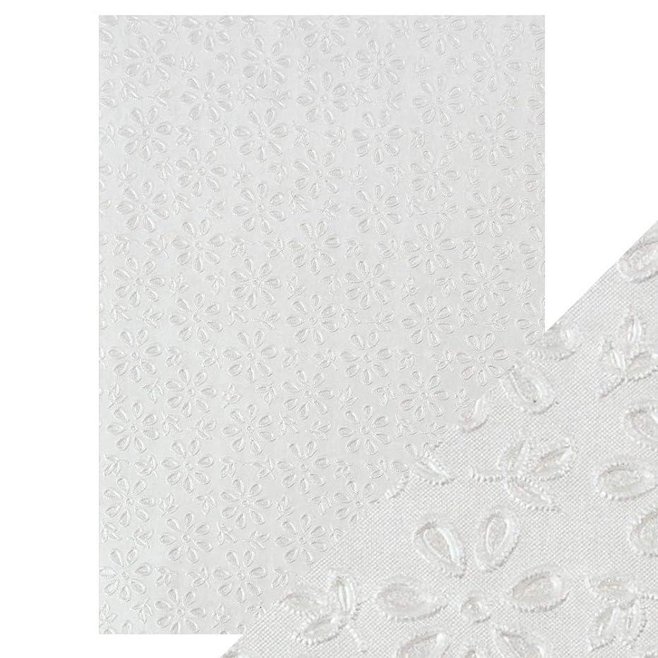 Tonic Studios Craft Paper, English Lace, A4