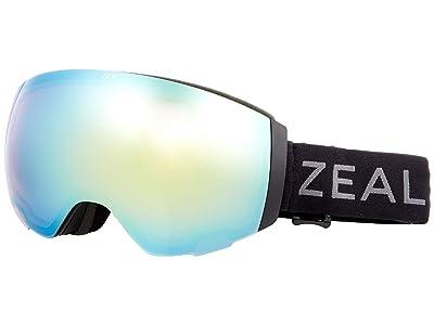 Zeal Optics Portal (Dark Night w/ Alchemy Mirror + Persimmon Sky Blue Lens) Snow Goggles