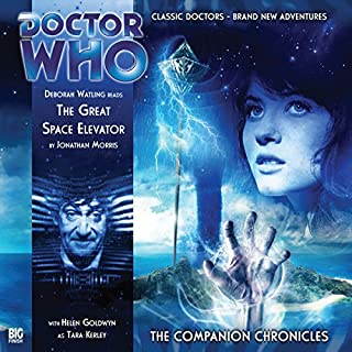 Doctor Who - The Companion Chronicles - The Great Space Elevator cover art