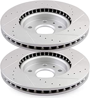 Front Rotors For Chevy Impala Lacrosse Terrain Camaro Equinox Regal Malibu 95
