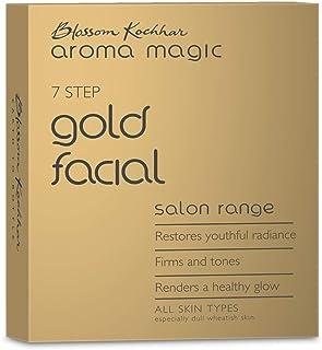 Aroma Magic Gold Facial Kit -Single Use, Natural, 5.43 g (Pack of 7)