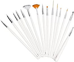 Fan-Ling 30PCS Nail Art Design Dotting Painting Drawing Polish Brush Pen Tool,Nail Striping Tape Tool Kit Set,Easy to Carry,for Home use or Professional use