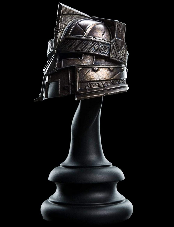 Herr der Ringe - Original Weta - Replik 1 4 - Erebor Royal Guard - Helm 16 cm - Weltweit Limitiert auf 750 Stück