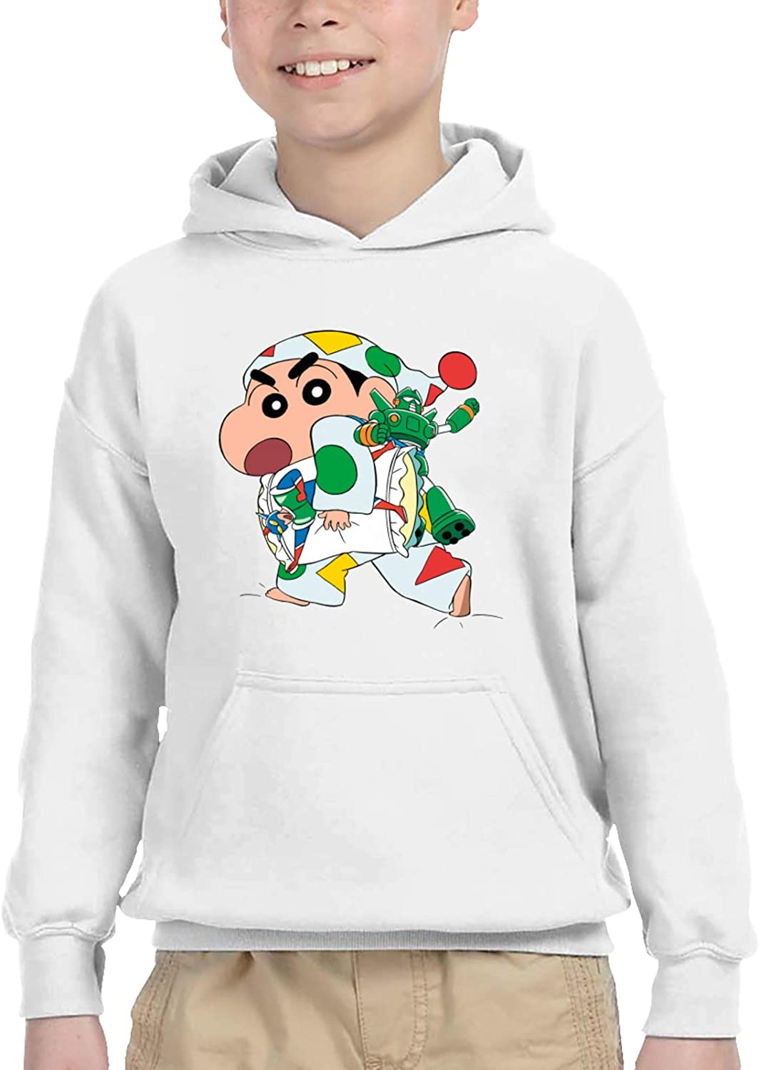 girl Casual Pullover Shin Chan Customized Funny Hooded Jacket