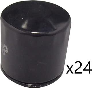 24 Pack Oil Filters fits John Deere Mowers GT235 GX70 LT180 LTR180 LX172 LX277 X300 F510 RX63 RX73 RX75 SRX75 SX75 SX95
