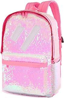 Flip Sequin Backpack for Girls Kids Boys Kindergarten Elementary Middle School Bookbag Cute Spark Book Bags Teen Travel Outdoor Daypack Back Pack