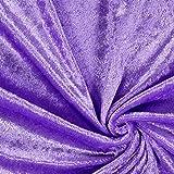 Fabulous Fabrics Pannesamt Flieder – Weicher Samt Stoff