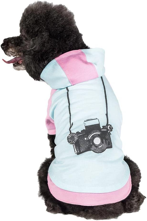 Blueberry Max 88% OFF Pet 2 Colors 2021 new Camera Dog Hoodie